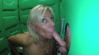 Streaming porn video still #6 from Real Public Glory Holes 3
