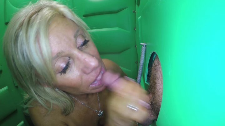 Streaming porn video still #1 from Real Public Glory Holes 3