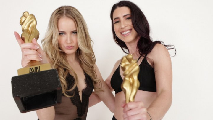 Streaming porn video still #2 from Lesbian Performers Of The Year 2020