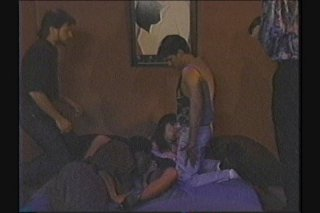 Streaming porn scene video image #1 from Gangbang Pummeling For A Lucky Gal