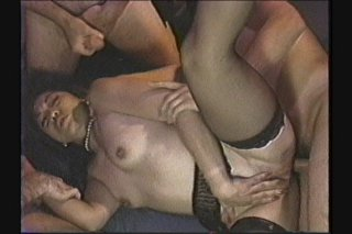 Streaming porn scene video image #9 from Gangbang Pummeling For A Lucky Gal