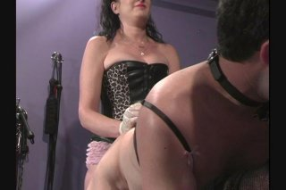 Streaming porn video still #6 from Strapped
