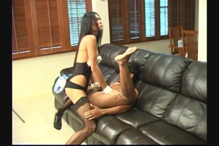 Streaming porn scene video image #4 from Ladyboy Fucks Her Man Right Up His Tight Ass