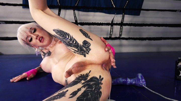 Streaming porn video still #5 from Grooby Girls Vs Bad Dragon
