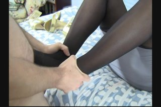 Streaming porn video still #3 from Jimmy Gets A Footjob