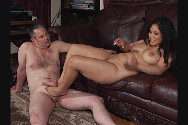 Streaming porn video still #1 from Jimmy Gets A Footjob