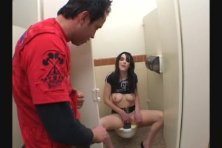 Streaming porn video still #1 from Fuck Me In The Bathroom Part Deux