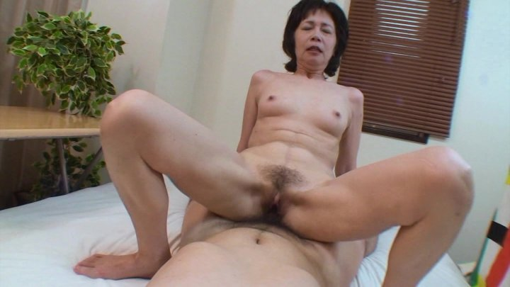 Streaming porn video still #5 from My Horny Japanese Grandma 2