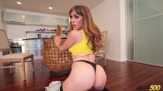 Streaming porn video still #1 from TS Cock Strokers 7: American Edition