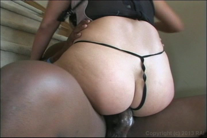 Kat Dior Ripped Pantyhose Takes Big Dick In Pussy