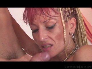 Streaming porn video still #11 from Granny Stocking Stuffers