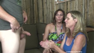 Streaming porn video still #4 from Twisted Family Handlove