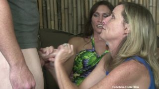 Streaming porn video still #6 from Twisted Family Handlove