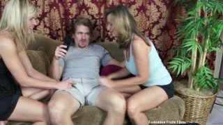 Streaming porn video still #3 from Twisted Family Handlove