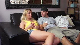 Streaming porn video still #1 from Twisted Family Handlove