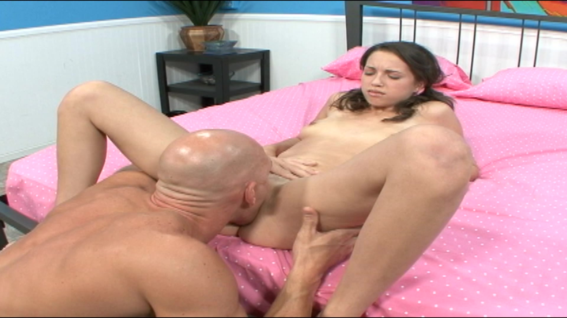 Teen girl grabbing a dick