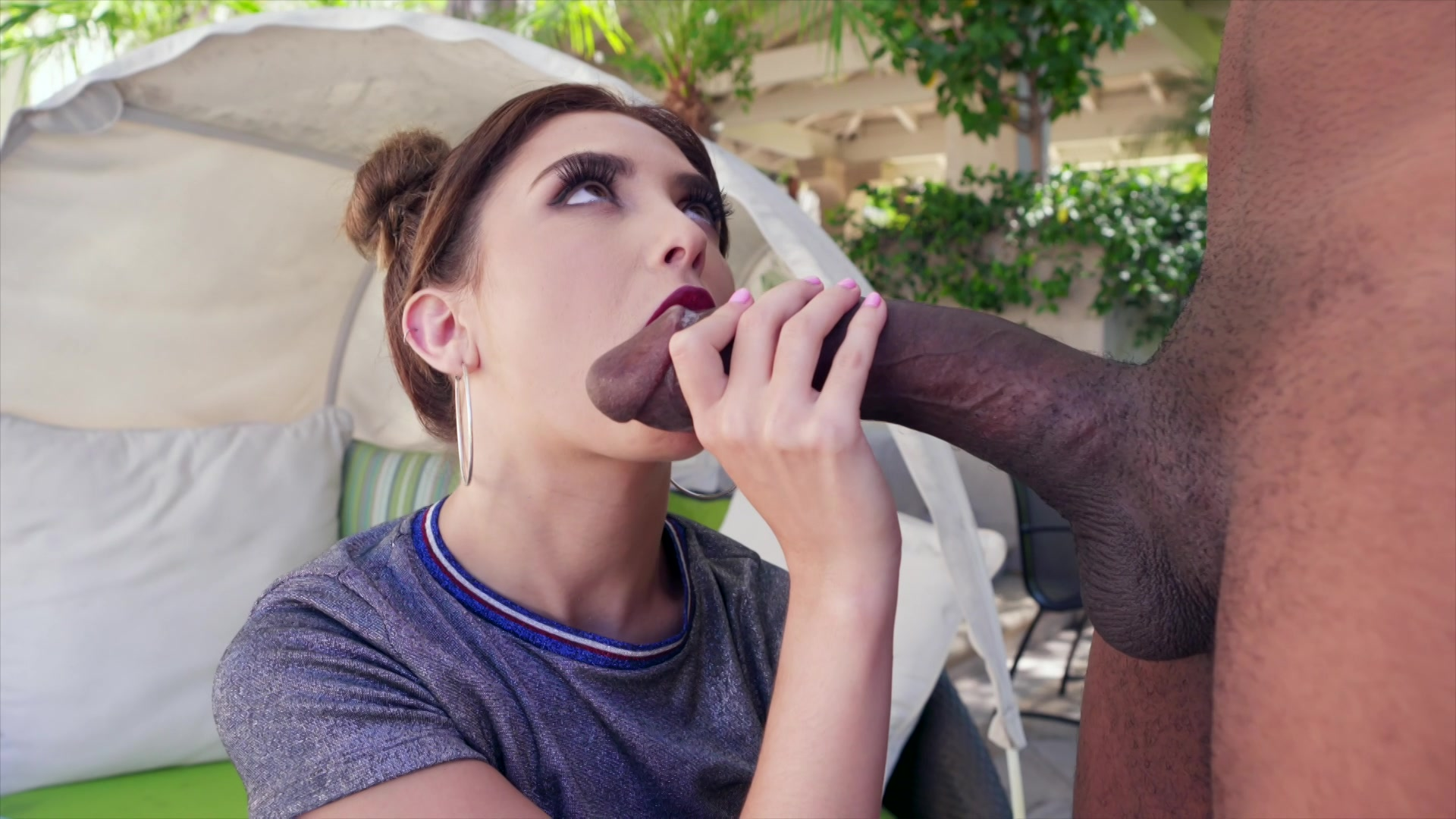 Jane Wilde Gets Her Face Fucked By The Big Cock