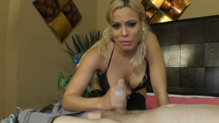 Streaming porn video still #4 from FemDom Cuckold Blowjobs