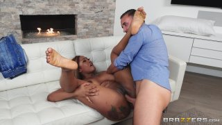 Streaming porn video still #4 from Brazzers Goes Black