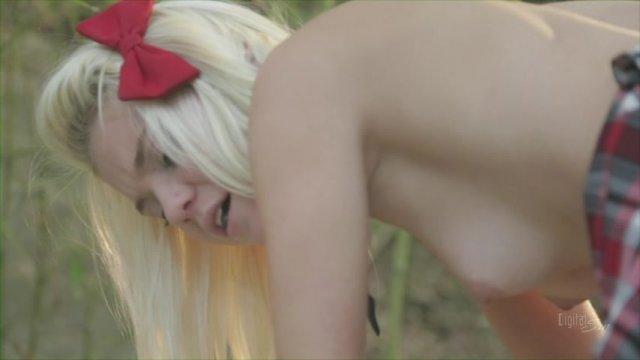 Streaming porn video still #1 from My Anal School Girl 2