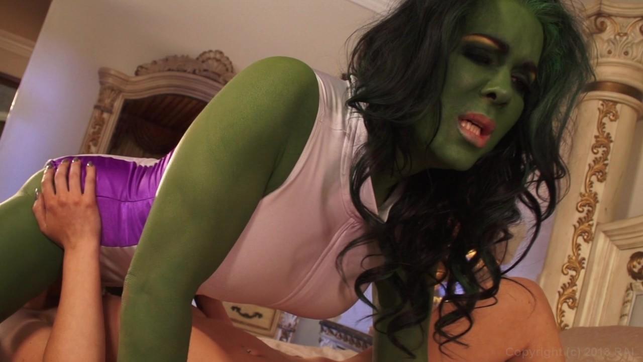 Chyna She Hulk Porn Parody