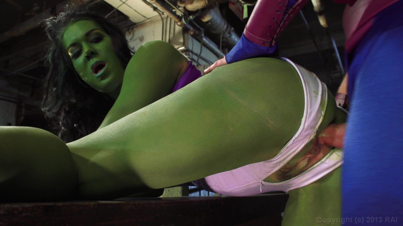 hulk porn parody