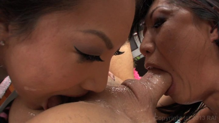 Asian Beauties Asa Akira And Tia Ling Posing For Your Pleasu Pornhd8K 1