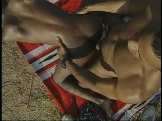 Streaming porn scene video image #9 from Black Couple Fuck Outdoors