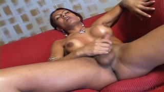 Streaming porn video still #8 from She-Male Strokers 29