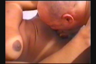 Streaming porn scene video image #5 from Bald Fat Guy Bangs Hot Tranny