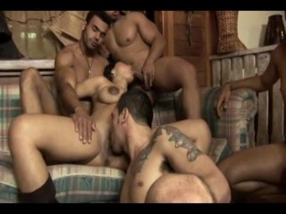 Streaming porn video still #6 from Pregnant Gang Bang 2