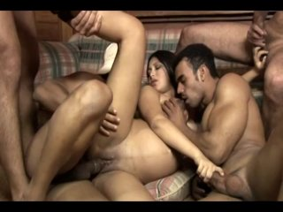 Streaming porn video still #8 from Pregnant Gang Bang 2