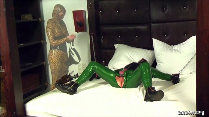 Streaming porn video still #1 from Rubber Sluts