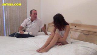 Streaming porn video still #5 from Deflower Me Daddy