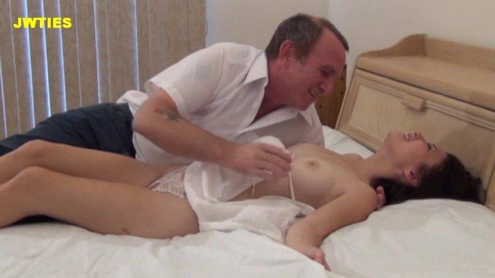 Streaming porn video still #2 from Deflower Me Daddy