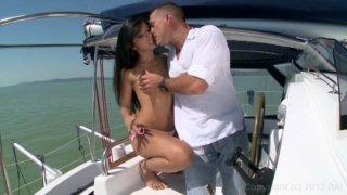 Oliva Gem Gets Fucked on the Boat