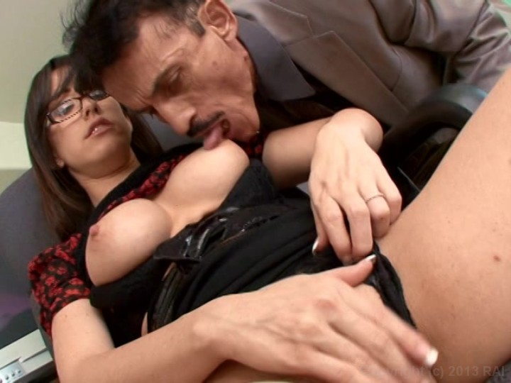 Jennifer white with old man for