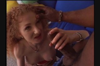 Streaming porn scene video image #2 from Hairy Busty Redhead Gets Fucked By BBC