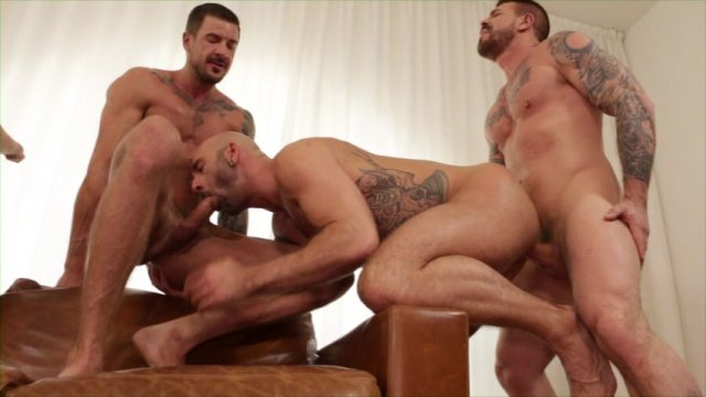 Streaming porn video still #1 from Rocco Steele's Breeding Party