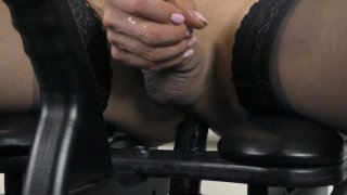Streaming porn video still #7 from She-Male Strokers 85