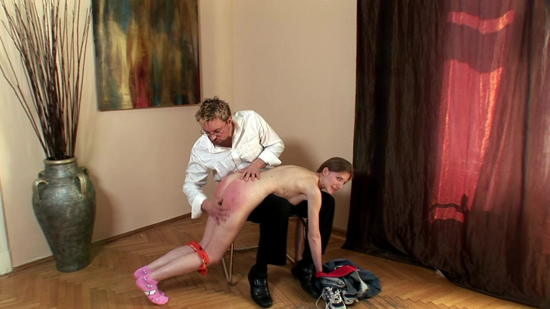 Mature Guy Getting Spanked