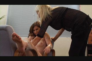 Streaming porn video still #9 from Very Best Of Tied N Tickled 3, The
