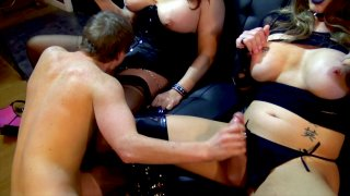 Streaming porn video still #4 from TGirl Bitches In Charge