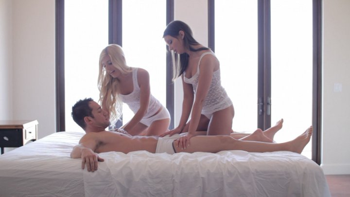 Streaming porn video still #3 from Threesome Fantasies Fulfilled