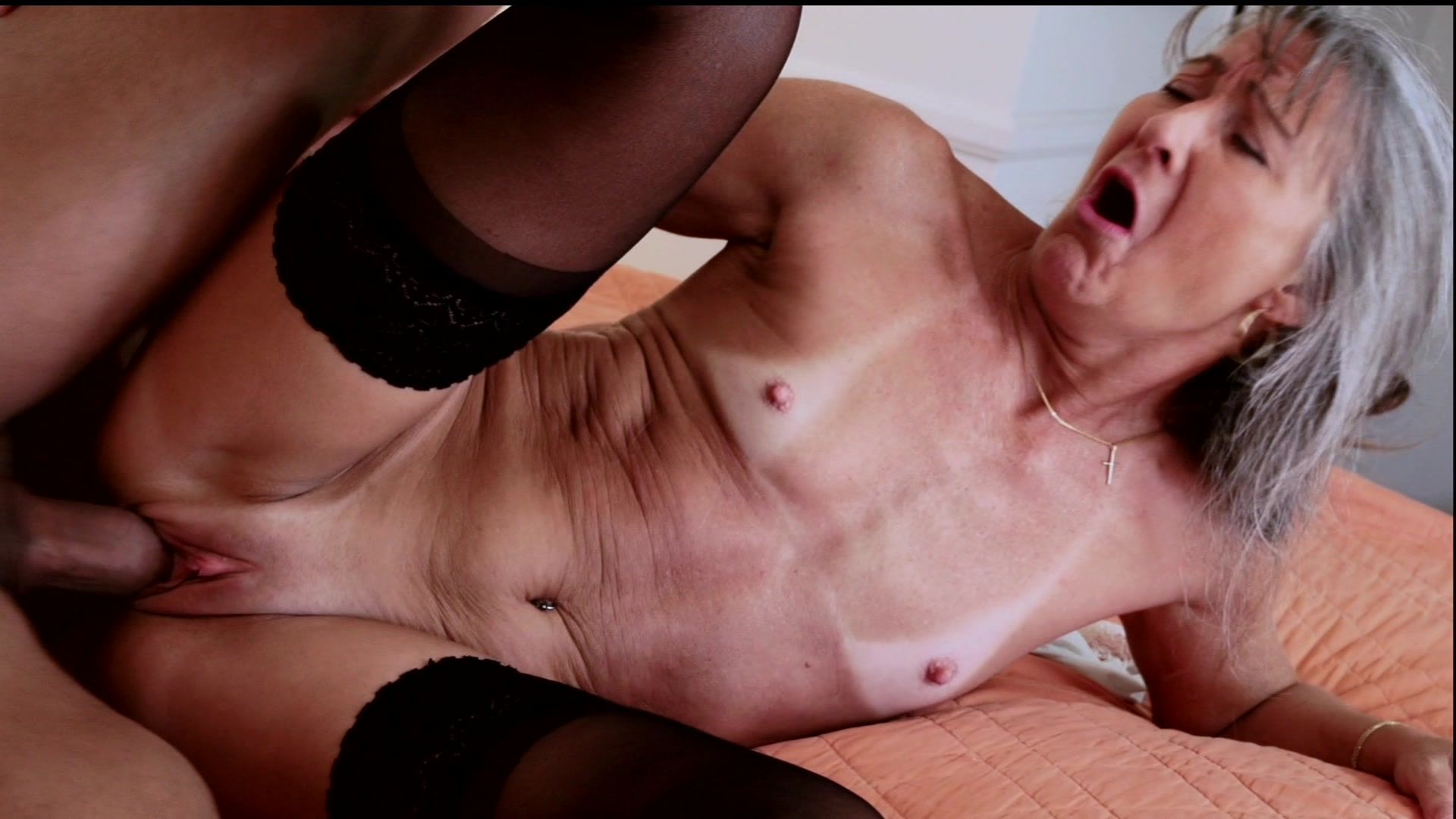 Old Bitch Fucked Hard By Him