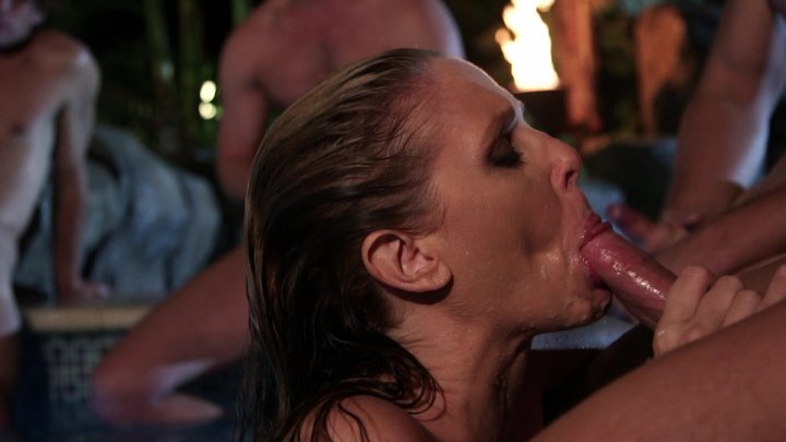 Streaming porn video still #3 from Cabana Cougar Club