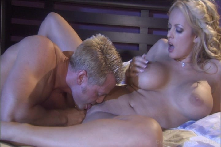 Busty Blonde Stormy Daniels Sucks and Fucks a Hard Cock Dry porn video scene.