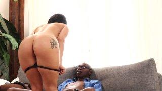 Streaming porn video still #3 from Interracial Temptations
