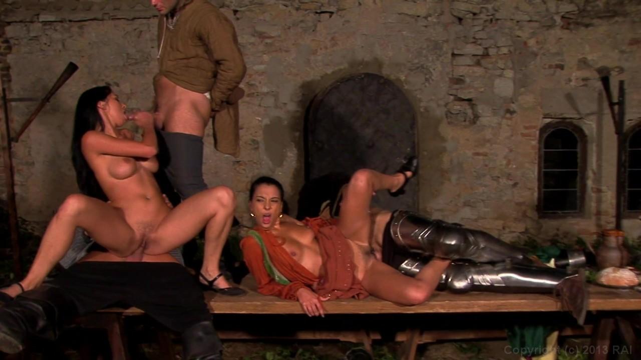 Michelle Wild In A Medieval Dp