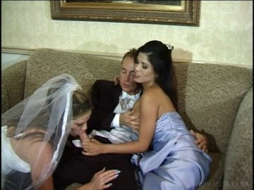 Read this Bride and bridesmaid threesome